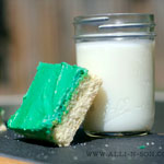 Vanilla Bean Sugar Cookie Bar Recipe