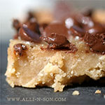 Sea Salt English Toffee Bars Recipe
