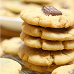 Candy Filled Sea Salt Peanut Butter Cookies Recipe