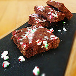 Peppermint Dark Chocolate Truffle Bars Recipe